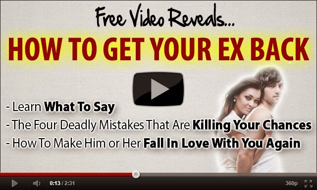 How To Attract Your Ex-back 3